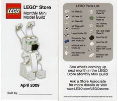LEGO Store MMMB - April 2009 (Bunny) by TooMuchDew, via Flickr