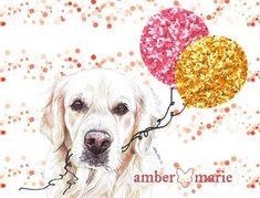 Golden Retriever Mothering Sunday Card Golden Retriever Gifts, Mothering Sunday, Colored Envelopes, Greeting Cards, Tapestry, Luxury, Prints, Design, Hanging Tapestry