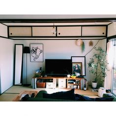Apartment Interior, Room Interior, Home Interior Design, Interior Architecture, Japanese Apartment, Aesthetic Rooms, Cool Rooms, House Rooms, Home Bedroom