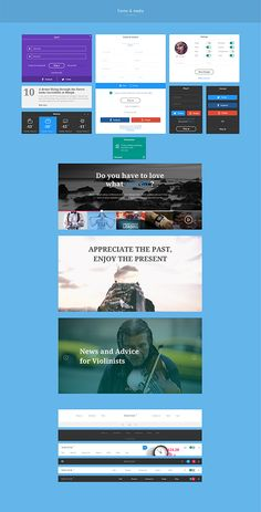 Writer UI Kit 2.0 by kohalov on @creativemarket