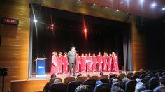Presentación ante la Embajada de Ecuador en Chile.