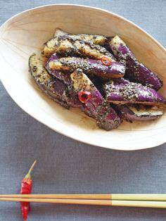【ELLE gourmet】なすの真っ黒ナムルレシピ エル・オンライン