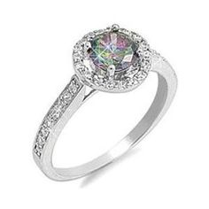 7 The Sun Jewelry Unique Style Round Cut 925 Pink Topaz /& Morganite Gemstone Silver Ring Size 6789