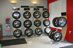 Point of Purchase Design | POP Design | Automotive POP | tire display | New tire display and showroom!