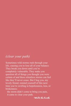 The storms are clearing your path ❤️ Stay strong inspirational quotes and po… – Unique Wallpaper Quotes Soul Love Quotes, Words Quotes, Wise Words, Quotes To Live By, Me Quotes, Poetry Quotes, Sayings, Strong Inspirational Quotes, Positive Quotes
