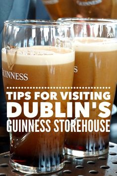 The Guinness Storehouse Dublin is Ireland's #1 tourist attraction. Click to learn how to avoid the crowds and tips for visiting the #Guinness beer tour.