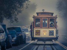 Foggy SF Cable Car by T. Malachi Dunworth  on 500px