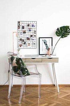Perfekt Hereinspaziert Ins Arbeitszimmer Mit Ghost Chair. Entdecke Noch Mehr  Wohnideen Auf COUCHstyle #living #