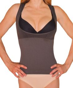Sexy stomach shaper - instantly smooth back rolls, love handles, and boost your breast.  Bamboo fabric keeps you comfortable and odor free. $36.55