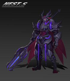 ArtStation - beetle, Zhexin Wang Arata Tokyo Ghoul, Character Concept, Character Art, Asura's Wrath, Vanessa Kirby, Fantasy Characters, Fictional Characters, Cyborgs, Asd