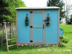 Plans for shed-style coop