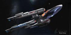 1764 by thraxllisylia on DeviantArt Star Trek 1, Star Trek Ships, Star Trek Starships, Star Trek Enterprise, Vaisseau Star Trek, Starfleet Ships, Sci Fi Spaceships, Sci Fi Ships, Star Trek Universe