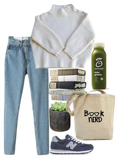 """☁️Rayame☁️"" by rayame ❤ liked on Polyvore featuring Shop Succulents, New Balance and Vanessa Bruno"