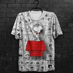 Camiseta Snoopy 3D