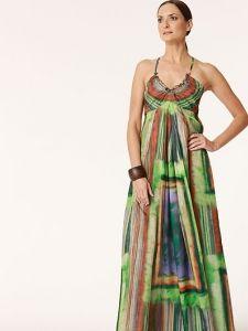 burda style: Damen - Kleider - Maxi-Kleider - Maxi-Kleid - gekreuzte Träger
