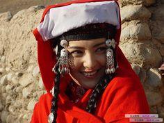 Tajik woman, Xinjiang, China.