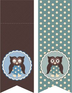 Laine Design: Freebies Printable Banner, Printable Cards, Party Printables, Free Printables, Owl Banner, Owl Classroom, Oh My Fiesta, Numbers Kindergarten, Party Flags