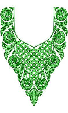 Pakistani Dresses Neck Embroidery Design