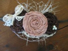 Newborn Headband Photography Prop by sugarbugboutiquebows on Etsy
