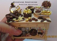 Miniaturas Brasileiras- Brazilian Miniatures: DELICIAS DE CHOCOLATE