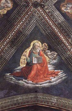 Sandro Botticelli — domenico-ghirlandaio: St. Matthew the...