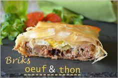 Brick au thon et à l'œuf au four Testé et approuvé ! Merci @cestnathaliequicuisine.com