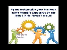 Blues in da Parish Sponsorship and Advertising Opportunities