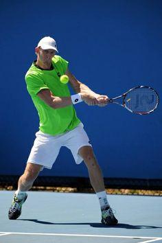 Kevin Anderson - Sports et équipement - Tennis - Lacoste http://www.lottosport.com/en/tennis/fighters