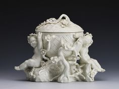 A Dated Bow Centrepiece 1750