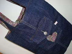 PaisleyJade: Refashioned Jeans