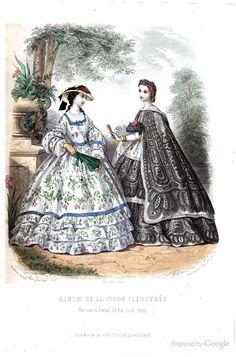 June 1861 La Mode illustrée: journal de la famille - Google Books pg 182