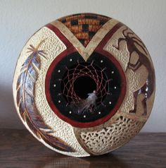 gourd art bonnie gibson - Great artist & great teacher!