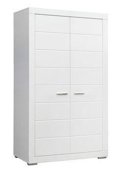 Kleiderschrank Steffi I in der Farbe weiß - zeitlos und unendlich kombinierbar passend zur Jugendzimmerserie Steffi 1 Kleiderschrank mit 2 Türen 1 Ablagefläche 1... #kinder #jugendzimmer #kleiderschrank