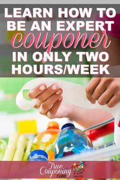 The number one excuse for not couponing is NO TIME. I've got 7 Tips to make sure you CAN coupon, in less than 2 hours per week! #coupon #tips