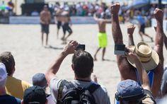 Phil Dalhausser and Sean Rosenthal 2014 Manhattan Beach Open | AVP Beach Volleyball