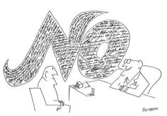 A Saul Steinberg classic -- a cartoon that almost transcends cartooning.