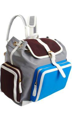 Pierre Hardy Colorblock Backpack