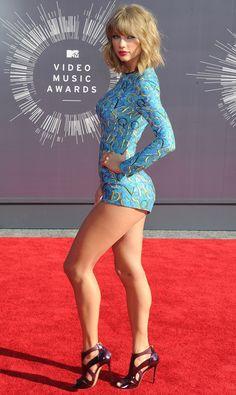 Taylor Swift walking the red carpet. - her skin care secrets at http://skincaretips.pro