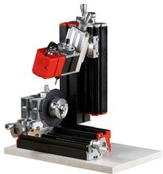 Thefirsttool mini  All Metal Shaft vertical drilling And Milling Machine educational tool