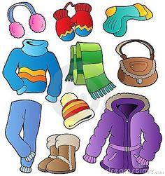 Colección 1 de la ropa del invierno