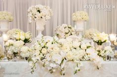 WedLuxe: floral design by Forget Me Not Flowers