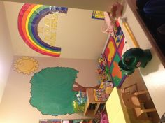Small room home childcare