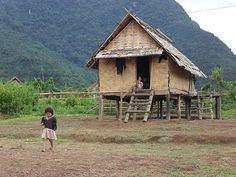 Typical home in dry season