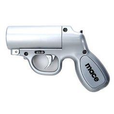 Pepperspray gun