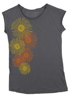 Supermaggie+Sunflowers+Muscle+Tee