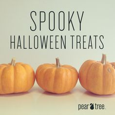 Halloween treat ideas from #PearTreeGreetings