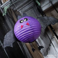 Halloween Bat Lantern DIY