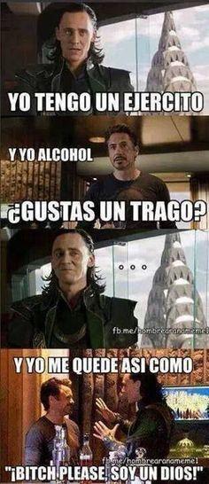 Memes Marvel - Loki es un lokillo XD - Wattpad Marvel Comic Universe, Marvel Dc Comics, Marvel Avengers, Avengers Memes, Marvel Memes, New Memes, Funny Memes, Fire Emblem, Geeks