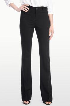 Teresa Trouser In Knit Twill - Black 9c799835f20