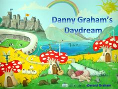 Danny Graham as you can see is fast asleep. He is obviously tired as he is a character in a children's mural/ book but the artist has been overworking himon a zero hours contract. Danny has had ...